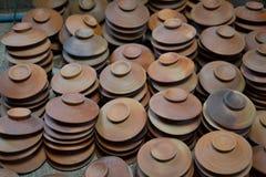 泰国的陶器 库存图片