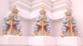 泰国的雕塑 图库摄影