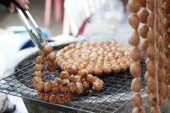 泰国的香肠 免版税库存图片