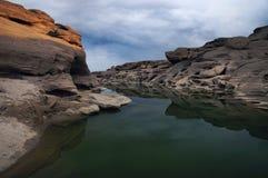 泰国的3000个BOK峡谷 库存照片