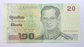 泰国的货币。 图库摄影