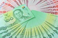 泰国的货币 免版税库存图片