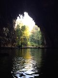 泰国的洞 免版税库存照片