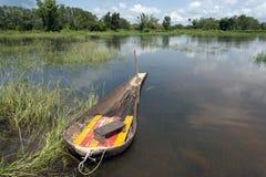 泰国的Aiopg小船地方小船 免版税图库摄影