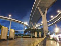 泰国的Bhumibol桥梁 免版税图库摄影