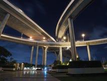 泰国的Bhumibol桥梁 免版税库存图片