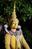 泰国的khon 免版税库存图片
