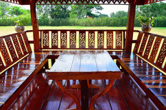 泰国的Sala 库存照片