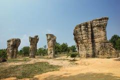 泰国的Stonehenge 免版税库存照片