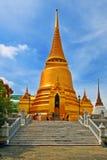 泰国的stupa 免版税库存照片