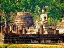 泰国的Sukhotai老首都 免版税库存图片
