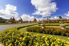 泰国皇家火葬场在曼谷,泰国 库存图片