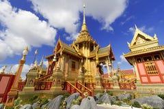 泰国皇家火葬场在曼谷,泰国 免版税库存照片