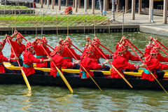 泰国皇家驳船 免版税图库摄影