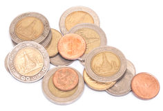 泰国硬币金钱 免版税库存照片