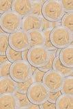 泰国硬币10泰铢前面  免版税库存图片