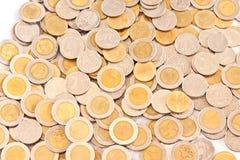 泰国硬币 免版税库存图片