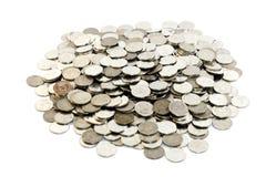 泰国硬币 免版税库存照片