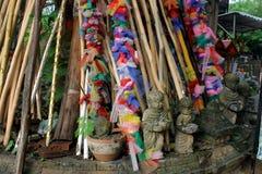 泰国礼拜式 免版税图库摄影