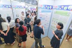 泰国社会的年会生物工艺学的 图库摄影