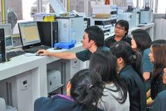泰国社会的年会生物工艺学的 免版税库存图片