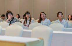 泰国社会的年会生物工艺学的 库存图片