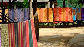 泰国种族传统织品样式在越南 图库摄影