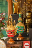 泰国种族艺术和工艺 库存照片