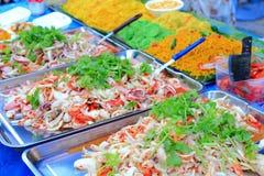 泰国穿戴的沙拉 库存照片