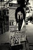 泰国竞选海报 免版税图库摄影