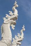 泰国纳卡人雕象 免版税库存照片