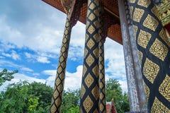泰国纹理堆 免版税库存照片