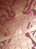 泰国纹理 库存图片