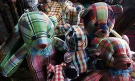 泰国纺织品玩具熊玩偶 库存照片