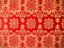 泰国纺织品 免版税图库摄影