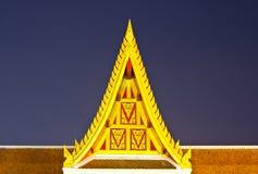 泰国结构的艺术 免版税库存图片