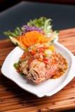 泰国罗望子树红鲷鱼 免版税库存图片