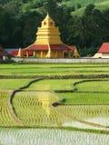 泰国美丽的域米的寺庙 图库摄影