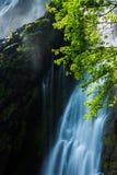 泰国美丽的瀑布 库存照片