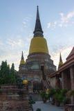 泰国老塔 库存图片