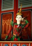 泰国老的木偶 免版税库存图片