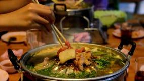 泰国自助餐食物烤猪肉 Moo钾Ta 股票录像