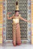 泰国舞蹈家 免版税库存照片