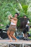 泰国舞蹈的伙计 免版税库存照片