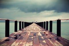 泰国船坞 库存图片