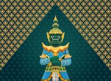 泰国艺术巨人 库存照片