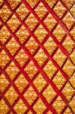 泰国艺术灰泥墙壁泰国寺庙 免版税库存照片