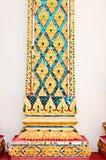 泰国艺术的柱子 库存照片