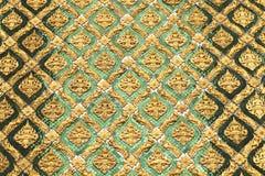 泰国艺术的模式 库存照片