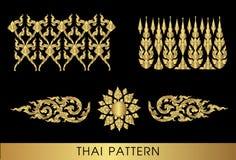泰国艺术的模式 库存图片